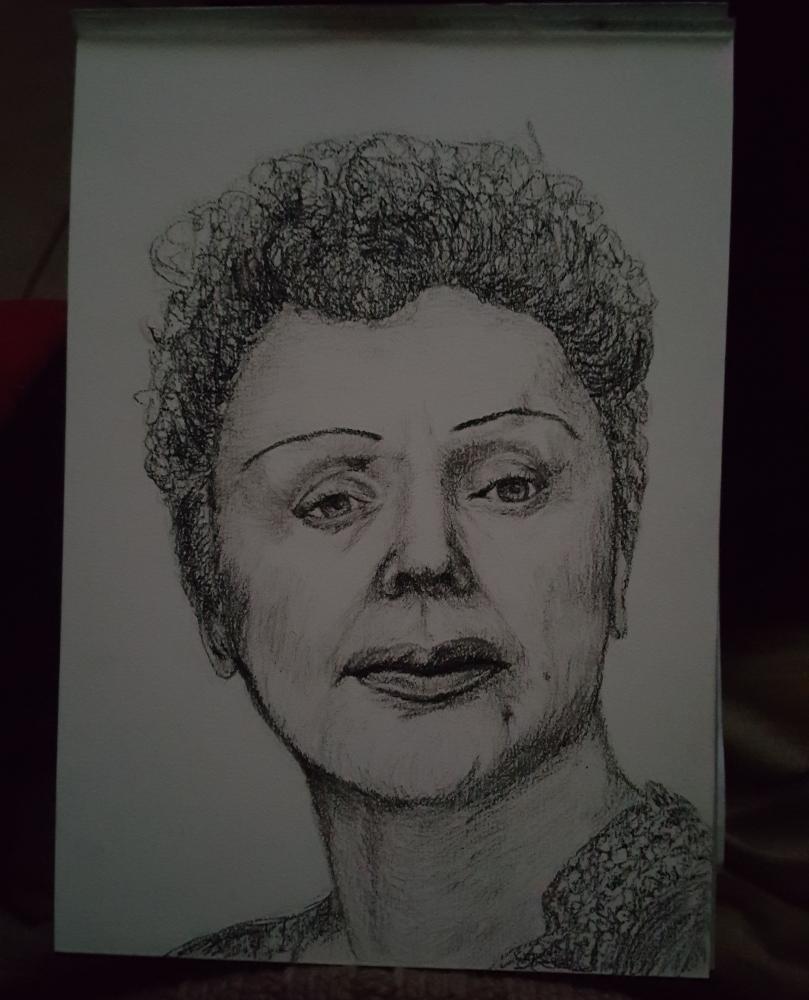 Edith Piaf by Raoul.G